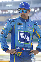 July 13, 2018 - Sparta, Kentucky, United States of America - Ricky Stenhouse, Jr (17) hangs out on pit road before qualifying for the Quaker State 400 at Kentucky Speedway in Sparta, Kentucky. (Credit Image: © Chris Owens Asp Inc/ASP via ZUMA Wire)