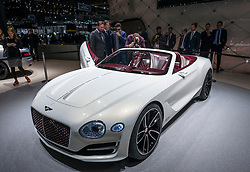 Bentley Concept at 87th Geneva International Motor Show in Geneva Switzerland 2017