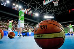 Ball during basketball match between National teams of Slovenia and France in Quarterfinal Match of U20 Men European Championship Slovenia 2012, on July 20, 2012 in SRC Stozice, Ljubljana, Slovenia. (Photo by Matic Klansek Velej / Sportida.com)