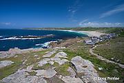 beach at Sennen Cove, Land's End, Cornwall, Great Britain, United Kingdom; Sennen is the most westerly village in England