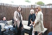 BEN GRIMES; PAULA GOLDSTEIN, opening of the 2010 Frieze art fair. Regent's Park. London. 13 October 2010. -DO NOT ARCHIVE-© Copyright Photograph by Dafydd Jones. 248 Clapham Rd. London SW9 0PZ. Tel 0207 820 0771. www.dafjones.com.