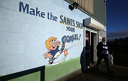 General view of the stadium shop before the Ladbrokes Scottish Premiership match at McDiarmid Park, Perth.