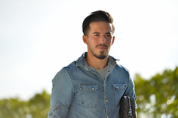 August 29, 2018 - San Jose, California, United States - San Jose, CA - Wednesday August 29, 2018: Jahmir Hyka prior to a Major League Soccer (MLS) match between the San Jose Earthquakes and FC Dallas at Avaya Stadium. (Credit Image: © John Todd/ISIPhotos via ZUMA Wire)