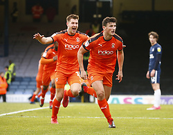 January 26, 2019 - Southend, England, United Kingdom - Matty Pearson of Luton Town celebrates scoring his sides first goal .during Sky Bet League One match between Southend United and Luton Town at Roots Hall Ground, Southend, England on 26 Jan 2019. (Credit Image: © Action Foto Sport/NurPhoto via ZUMA Press)