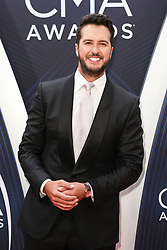 52nd Annual Country Music Association Awards hosted by Carrie Underwood and Brad Paisley and held at the Bridgestone Arena on November 14, 2018, in Nashville, TN. © Curtis Hilbun / AFF-USA.com. 14 Nov 2018 Pictured: Luke Bryan. Photo credit: Curtis Hilbun / AFF-USA.com / MEGA TheMegaAgency.com +1 888 505 6342