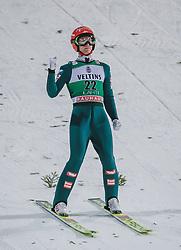 28.02.2020, Salpausselkae Hill, Lahti, FIN, FIS Weltcup Ski Sprung, Herren, im Bild Stefan Huber (AUT) // Stefan Huber of Austria during the men's FIS Ski Jumping World Cup at the Salpausselkae Hill in Lahti, Finland on 2020/02/28. EXPA Pictures © 2020, PhotoCredit: EXPA/ JFK