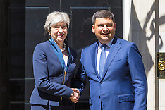 2017-07-05 Theresa May welcomes Ukraine PM Volodymyr Groysman to Downing Street