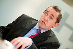 Andrew Davies Head of Risk for Hitachi Capital Leeds .10th October 2011. Image © Paul David Drabble