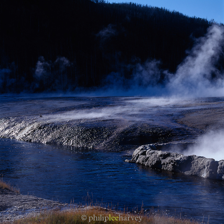 Thermal vents in Yellowstone National Park, USA