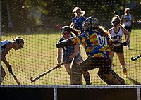 Field Hockey Gilford versus Newfound.  Karen Bobotas for the Laconia Daily Sun