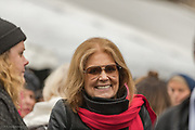Gloria Steinem, feminist icon and women's rights advocate., arrives at the March.