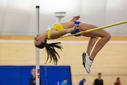 Maruša Černjul competes during day 2 of Slovenian Athletics Indoor Championships 2020, on February 23, 2020 in Novo mesto, Slovenia. Photo by Peter Kastelic / Sportida