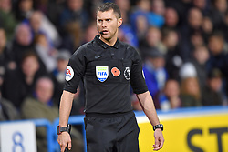 Referee Chris Kavanagh during the Premier League match at the John Smith's Stadium, Huddersfield.