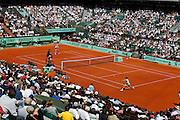 Roland Garros 2011. Paris, France. May 28th 2011..French player Gilles SIMON (right) against Mardy FISH