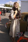 Lady Alexandra Gordon-Lennox, Goodwood Revival Meeting. Saturday 17 September 2005.  ONE TIME USE ONLY - DO NOT ARCHIVE  © Copyright Photograph by Dafydd Jones 66 Stockwell Park Rd. London SW9 0DA Tel 020 7733 0108 www.dafjones.com
