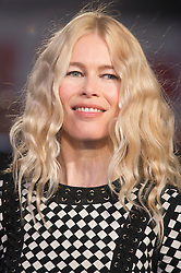 """Claudia Schiffer attends the European premiere for """"Eddie the Eagle at Odeon Leicester Square in London, 17.03.2016. EXPA Pictures © 2016, PhotoCredit: EXPA/ Photoshot/ Euan Cherry<br /> <br /> *****ATTENTION - for AUT, SLO, CRO, SRB, BIH, MAZ, SUI only*****"""