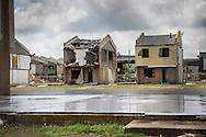 Press park, blighted public housing project in New Orleans upper 9th ward. The homes were built on top of a toxic dump and later declared a supper fund site. 9 years after Katrina a partial tear down took place.