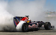 PERTH, AUSTRALIA - NOVEMBER 28:  Daniel Ricciardo of RedBull drives during the Festival of Speed at Wanneroo Raceway on November 28, 2010 in Perth, Australia.  (Photo by Paul Kane/Getty Images)