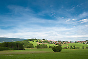 Landschaft mit Breitenberg, Bayerischer Wald, Bayern, Deutschland | landscape with Breitenberg, Bavarian Forest, Bavaria, Germany