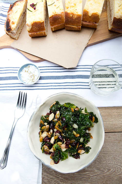 Kale salad at Le'Estelle in Austin / Tribeza Magazine