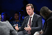 Mark Elliott, Division President, Southern Africa, Mastercard, South Africa speaking during the session From Start-Ups to Scale-Ups at the World Forum World Economic Forum on Africa 2019. Copyright by World Economic Forum / Greg Beadle