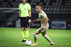 Tomi Horvat of Mura during football match between NS Mura and AGF Aarhus in Second Round of UEFA Europa League Qualifications, on September 17, 2020 in Stadium Fazanerija, Murska Sobota, Slovenia. Photo by Blaz Weindorfer / Sportida