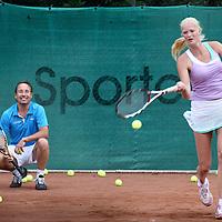 Nederland, Amsterdam , 30 juni 2011..Tennispark Amstelpark..Op de foto Hans Pruijker..Foto:Jean-Pierre Jans