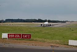 Take of of the plane for Rio <br /> Departure of the horses to the Rio Olympics from Liege Airport - Liege 2016<br /> © Hippo Foto - Dirk Caremans<br /> 30/07/16