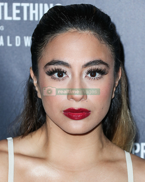 WEST HOLLYWOOD, LOS ANGELES, CA, USA - NOVEMBER 05: PrettyLittleThing X Hailey Baldwin Launch Event held at Catch LA Restaurant on November 5, 2018 in West Hollywood, Los Angeles, California, United States. 05 Nov 2018 Pictured: Ally Brooke. Photo credit: Xavier Collin/Image Press Agency/MEGA TheMegaAgency.com +1 888 505 6342