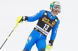 GROSS Stefano of Italy  during 10th Men's Slalom - Pokal Vitranc 2013 of FIS Alpine Ski World Cup 2012/2013, on March 10, 2013 in Vitranc, Kranjska Gora, Slovenia. (Photo By Vid Ponikvar / Sportida.com)