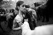 The villagers reject the complaints of activists who condemn the brutality of the round-up. They argue part of the tradition now involves vaccination against diseases that the horses can pick up on the mountain.