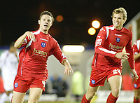 Photo: Marc Atkins.<br /> <br /> Milton Keynes Dons v Peterborough United. Coca Cola League 2. 06/10/2006.<br /> <br /> <br /> <br /> Mark Arber celebrates scoring for Peterborough.