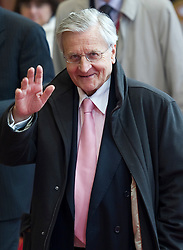 Jean-Claude Trichet, president of the European Central Bank, departs after the euro-zone summit in Brussels, Belgium, on Friday, May 7, 2010. (Photo © Jock)