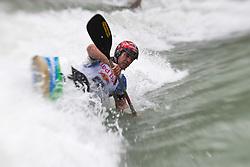 18.06.2010, Drauwalze, Lienz, AUT, ECA Kayak Freestyle European Championships, im Bild Feature Fresstyle Kajak, , EXPA Pictures © 2010, PhotoCredit: EXPA/ J. Feichter / SPORTIDA PHOTO AGENCY