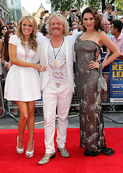 Rosie Parker, Leigh Francis and Kelly Brook  arriving for the premiere of Keith Lemon The Film in London, Monday, 20th August 2012. Photo by: Stephen Lock / i-Images