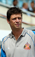 Photo: Ed Godden.<br /> Coventry City v Sunderland. Coca Cola Championship. 06/08/2006. Sunderland Manager, Niall Quinn.