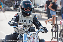 Drag Racing finals at the Stugis Dragway during the Annual Sturgis Black Hills Motorcycle Rally. Sturgis, SD, USA. Monday August 7, 2017. Photography ©2017 Michael Lichter.