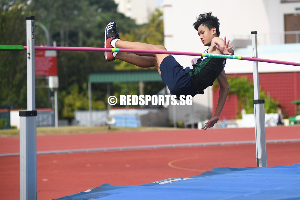 Benjamin Seah of RI came in second with a height of 1.78 metres. (Photo 1 © Stefanus Ian/Red Sports)