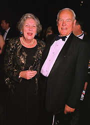 Air Marshall SIR JOHN CURTISS & LADY CURTISS, at a ball in London on 20th October 1998.MLL 35