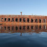 Car Ferry Beacon, Boatyard 2005