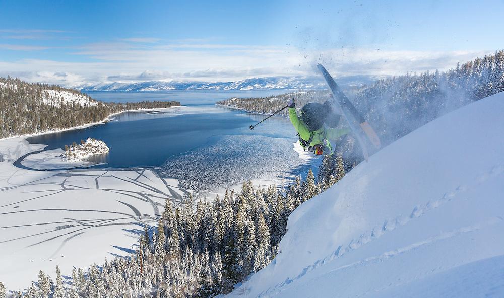 Ian Kirk.  Lake Tahoe Basin. California/Nevada.