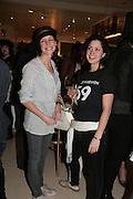 Chloe Lonsdale and Misty Twigg, Surrealism at Selfridges. London. 22 March 2007.  -DO NOT ARCHIVE-© Copyright Photograph by Dafydd Jones. 248 Clapham Rd. London SW9 0PZ. Tel 0207 820 0771. www.dafjones.com.