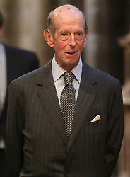 EMBARGOED TO 1700 THURSDAY APRIL 15 File photo dated 20/09/19 of the Duke of Kent who is one of the 30 members of the royal family who will be in attendance at the Duke of Edinburgh's funeral at Windsor Castle on Saturday. Issue date: Thursday April 15, 2021.