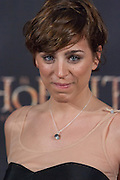 Nausicaa Bonnin at The Hobbit premiere in Madrid