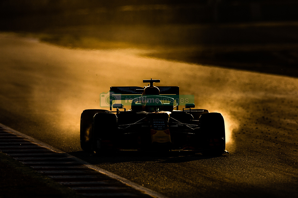 February 26, 2019 - Barcelona, Barcelona, Spain - Pierre Gasly from France with 10 Aston Martin Red Bull Racing - Honda RB15 in action during the Formula 1 2019 Pre-Season Tests at Circuit de Barcelona - Catalunya in Montmelo, Spain on February 26. (Credit Image: © AFP7 via ZUMA Wire)