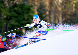 04.01.2013, Crveni Spust, Zagreb, AUT, FIS Ski Alpin Weltcup, Slalom, Damen, 1. Lauf, im Bild Veronika Velez Zuzulova (SVK) // Veronika Velez Zuzulova of Slovak Republic in action // during 1st Run of the ladies Slalom of the FIS ski alpine world cup at Crveni Spust course in Zagreb, Croatia on 2013/01/04. EXPA Pictures © 2013, PhotoCredit: EXPA/ Pixsell/ Slavko Midzor..***** ATTENTION - for AUT, SLO, SUI, ITA, FRA only *****