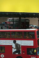 London. UK London bridge railway station  / Londres . quartier de la gare de London bridge Grande Bretagne