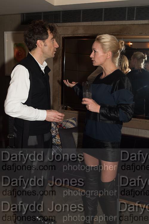 THOMAS HEATHERWICK, Spectator Life - 3rd birthday party. Belgraves Hotel, 20 Chesham Place, London, SW1X 8HQ, 31 March 2015