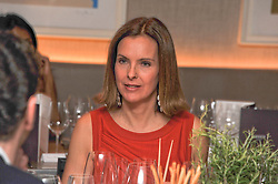 Actress CAROLE BOUQUET at a dinner hosted by Marlon & Nadya Abela at Cassis 232-236 Brompton Road, London to thank customers & friends for their custom held on 9th February 2012.