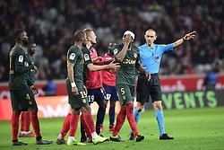 March 15, 2019 - Lille, France, FRANCE - blessure de JEMERSON  (Credit Image: © Panoramic via ZUMA Press)